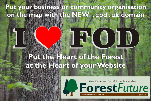 Forest of Dean domain name .fod.uk